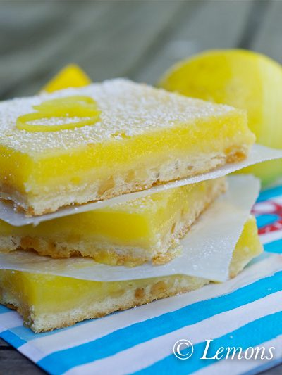 """Lemon Bars – My Search for """"The One"""""""