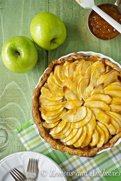 Apple-Banana Tart