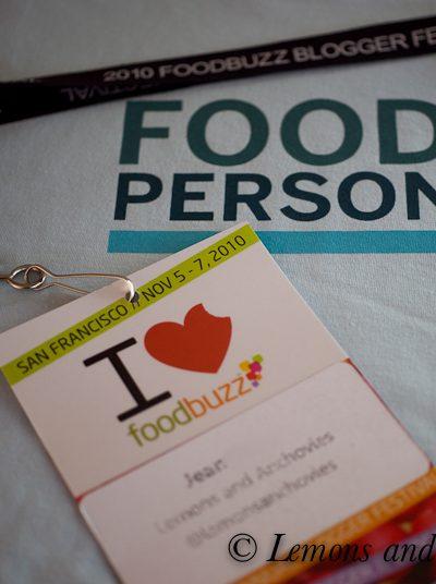Foodbuzz Blogger Festival 2010