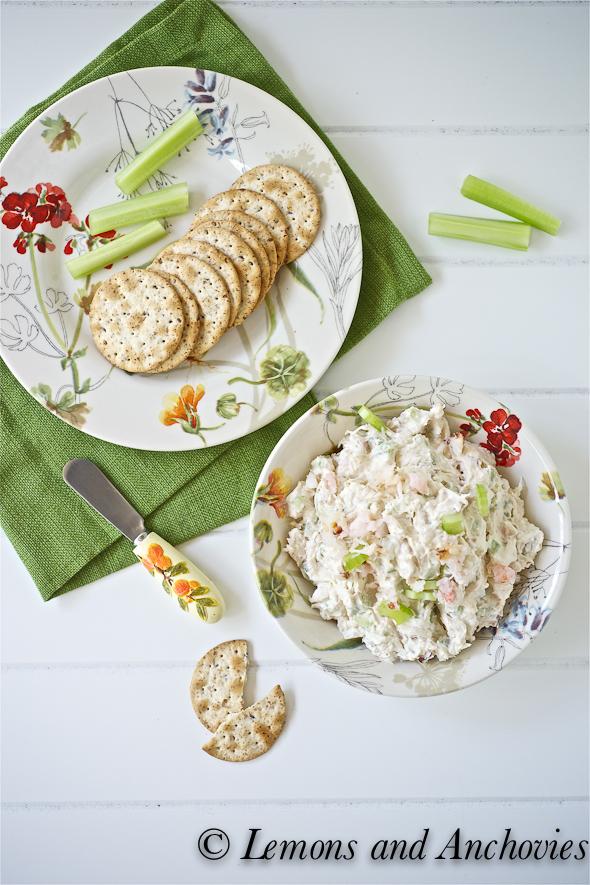 how to make crab salad dip
