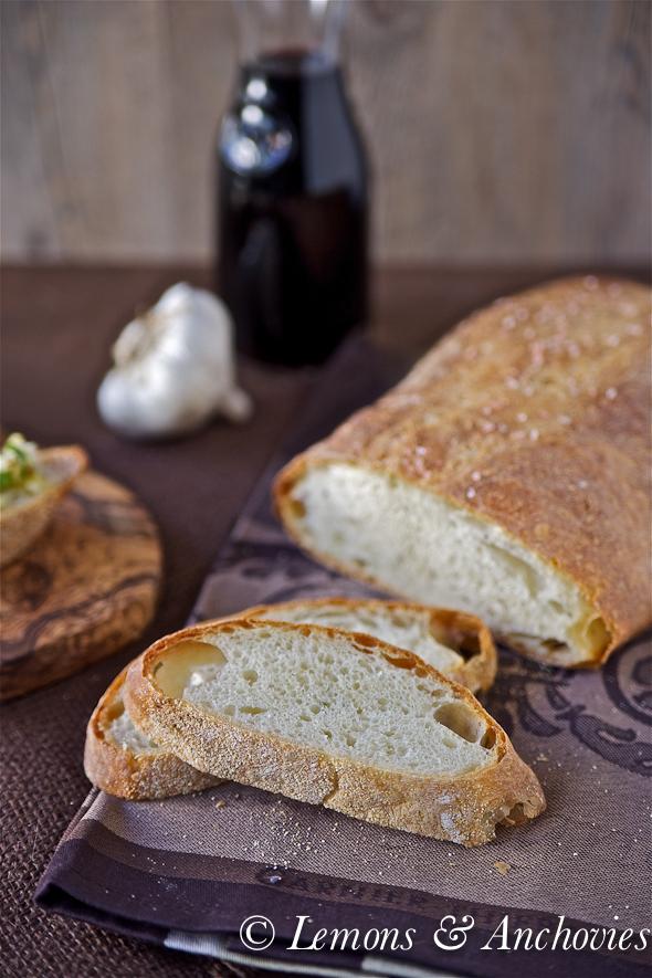 Panmarino (Rosemary Bread) and Biga (Starter Dough)-2