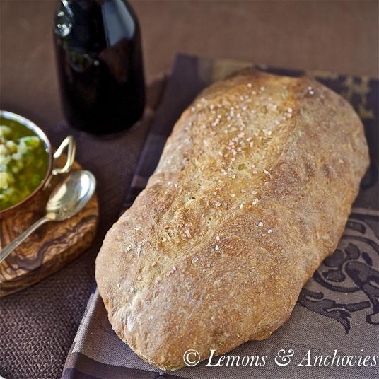 Panmarino (Rosemary Bread) and Biga (Starter Dough)-3
