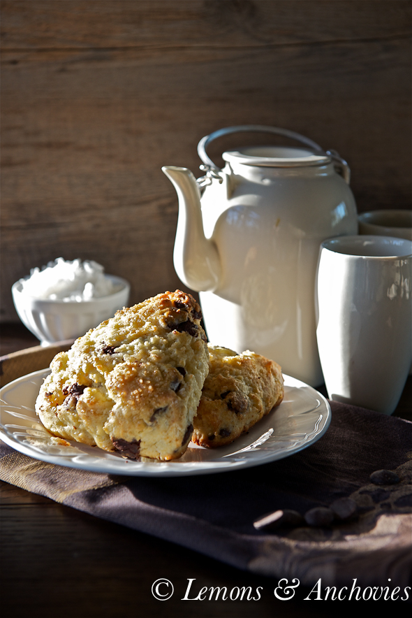 Chocolate Coconut Scones-3