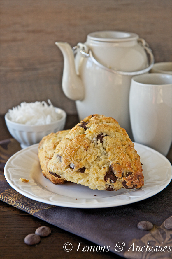Chocolate Coconut Scones-4