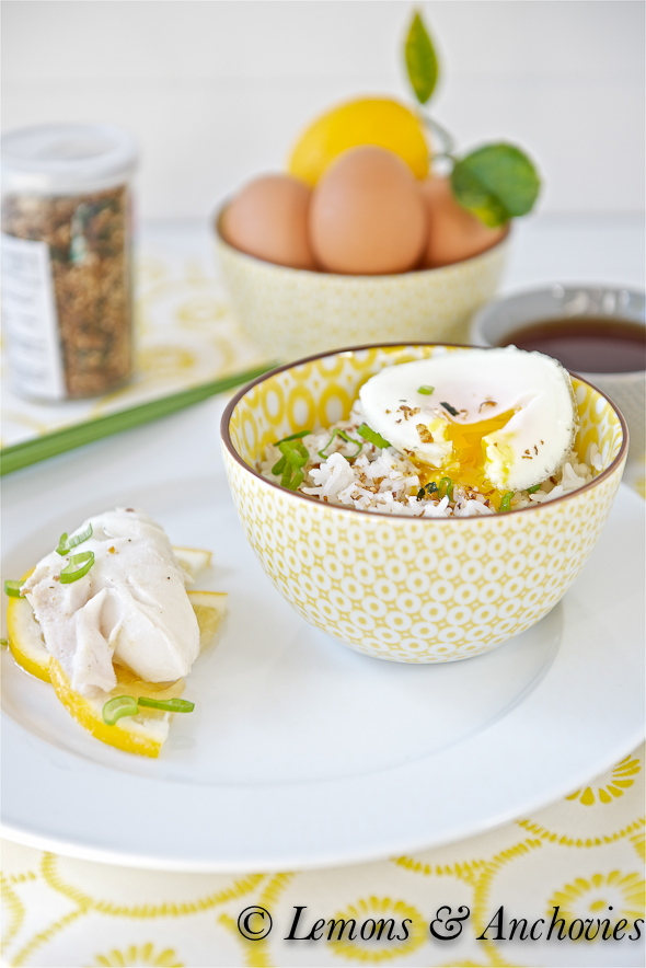 Poached Cod and Egg over Rice-3