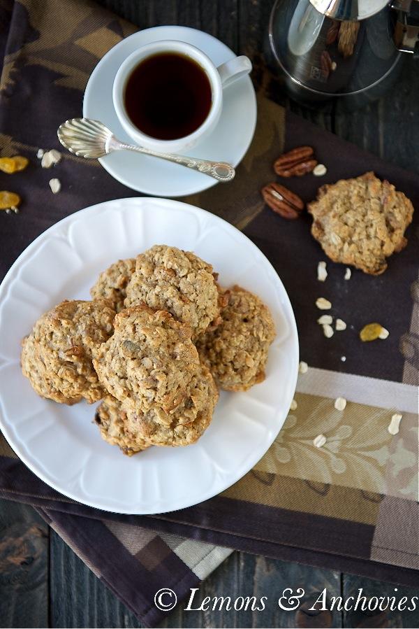 Raisin Pecan Oatmeal Cookies-2