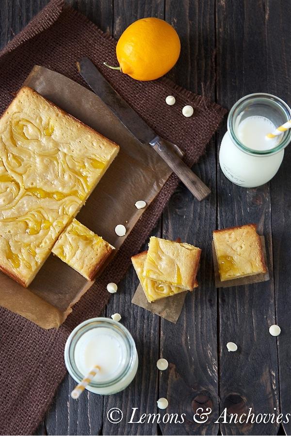 Vanilla Lemon Swirl Bars 2