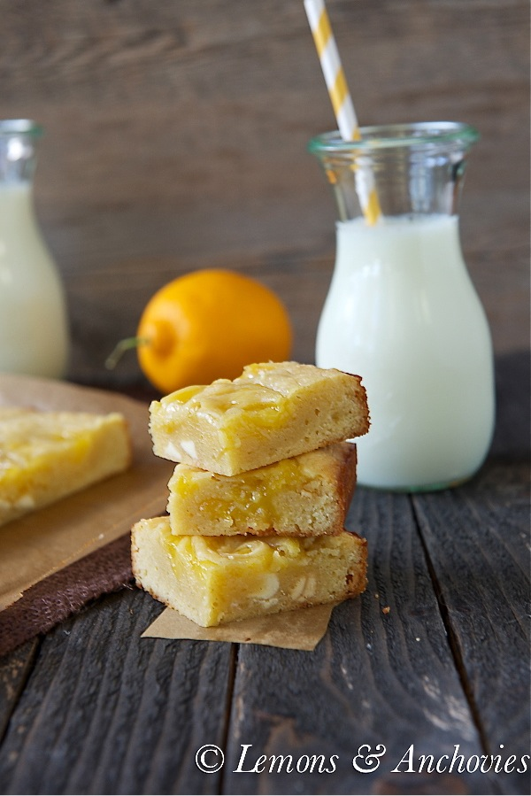 Vanilla Lemon Swirl Bars 3