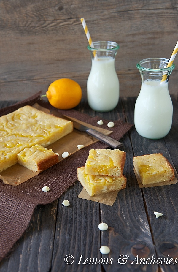 Vanilla Lemon Swirl Bars 4