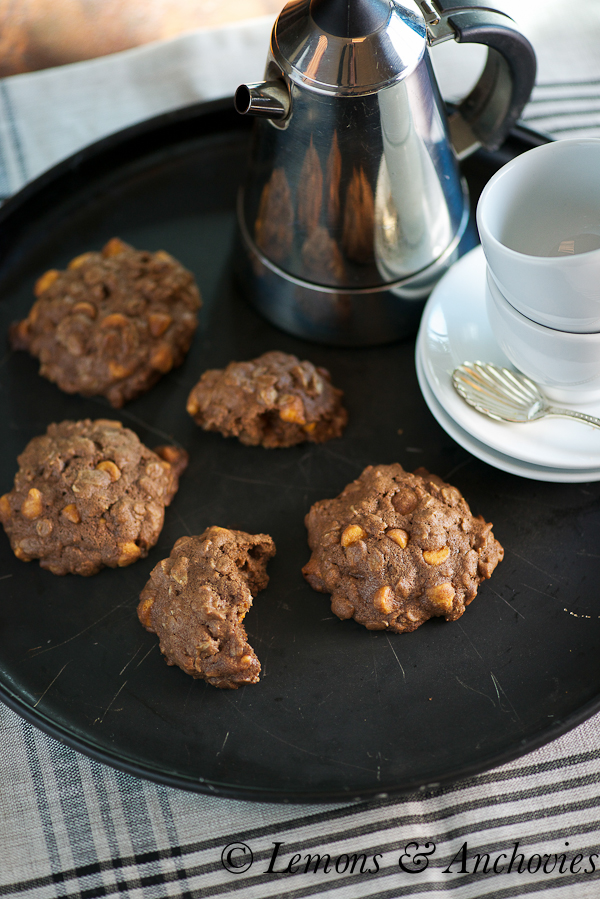 Chocolate-Butterscotch Oatmeal Cookies-4