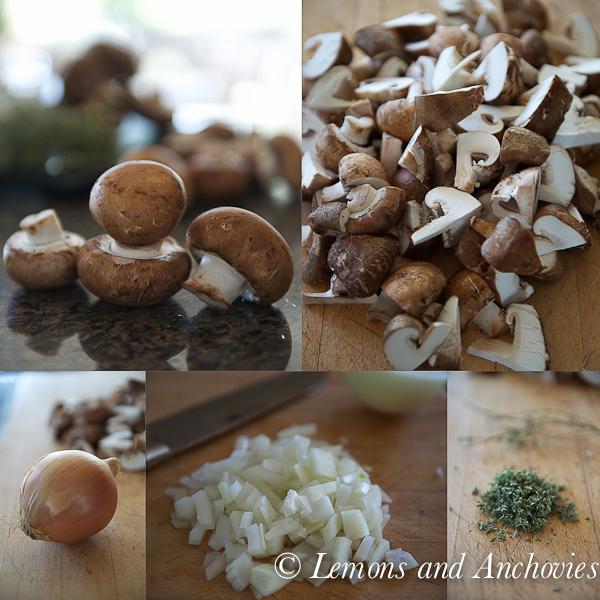 Parmesan Bruschetta with Mushroom Ragu-3