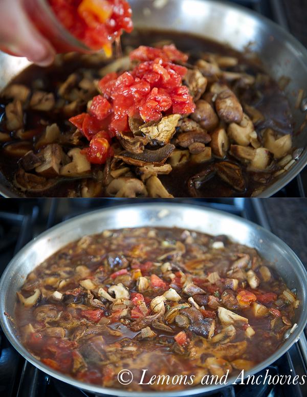 Parmesan Bruschetta with Mushroom Ragu-5