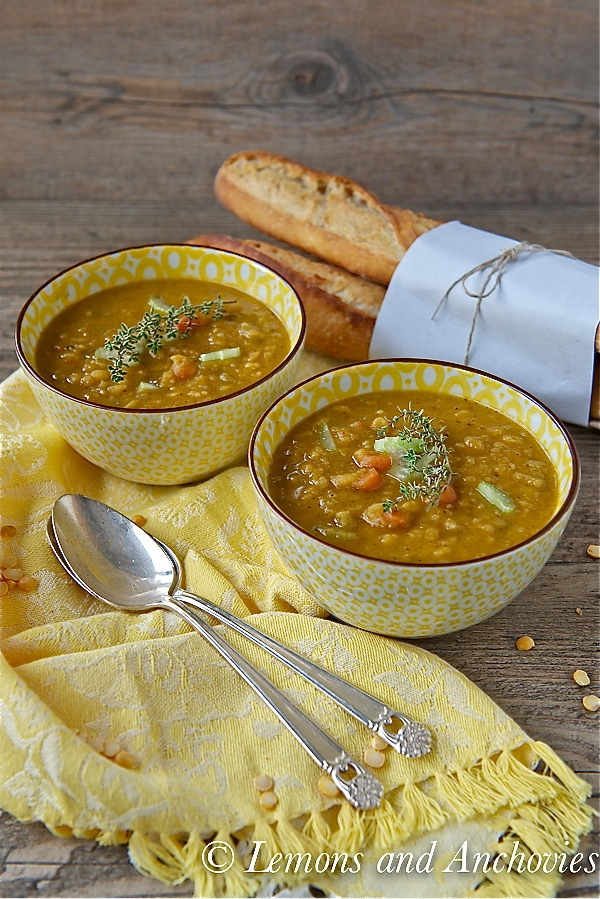 Slow Cooker Split Pea Soup-3