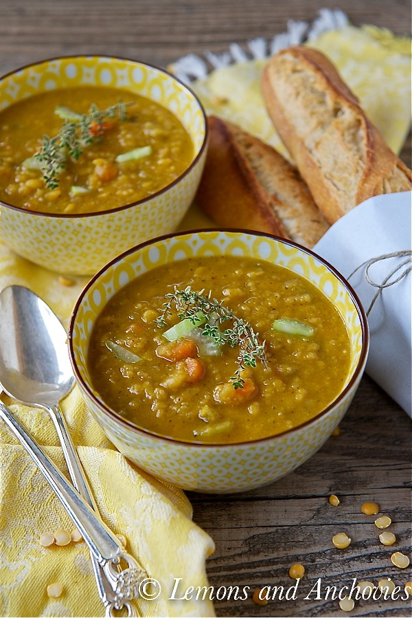 Slow Cooker Split Pea Soup-4
