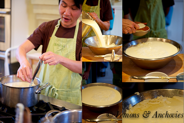 Tofu-Making Class at Cavallo Point Cooking School
