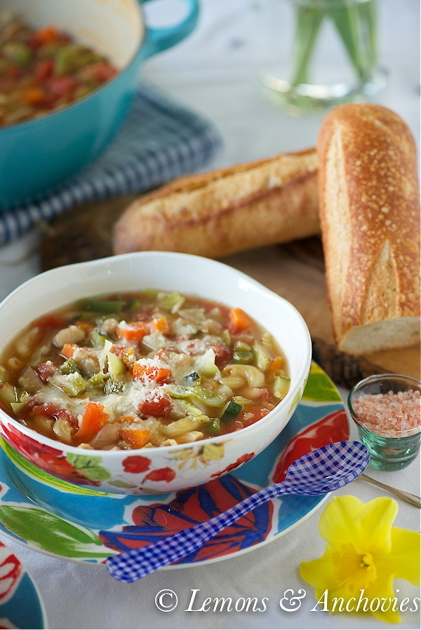 Weeknight Minestrone Soup-3