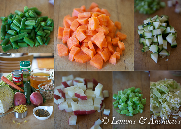 Weeknight Minestrone Soup-6