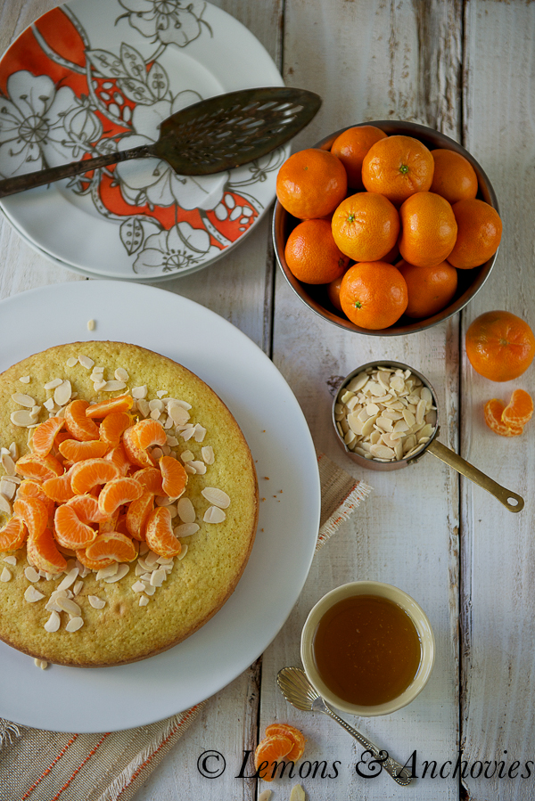Citrus-Almond Olive Oil Cake | https://lemonsandanchovies.com
