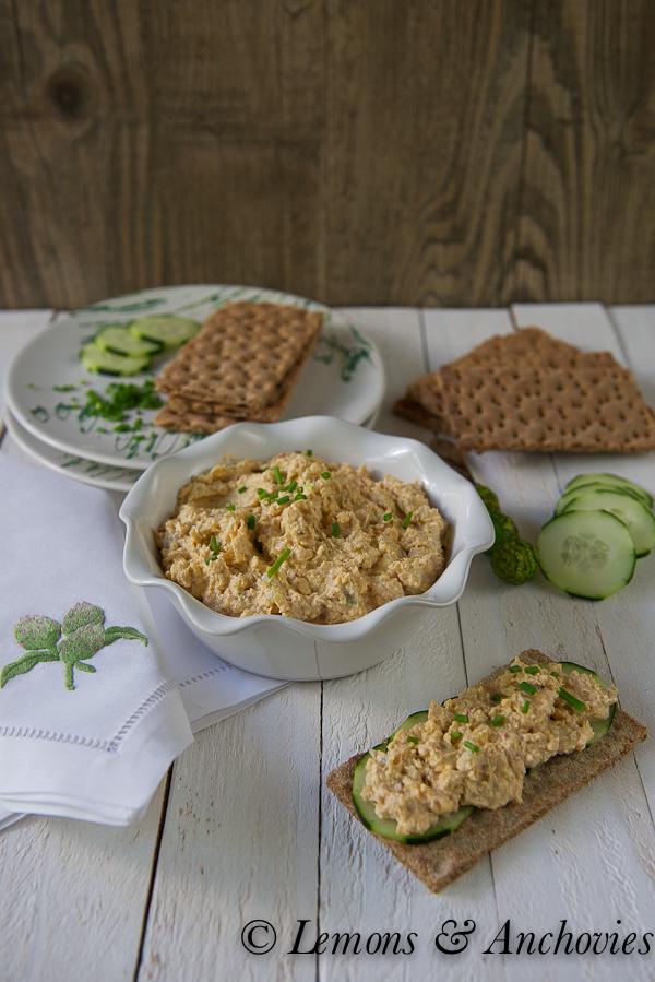 Artichoke, Cheddar, Chipotle Spread | Lemons & Anchovies Blog