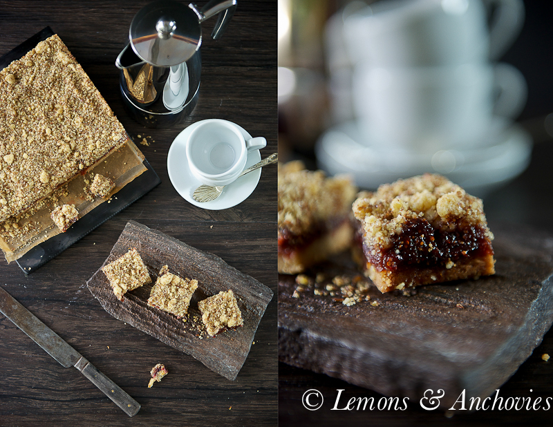 Fig Bars | https://lemonsandanchovies.com