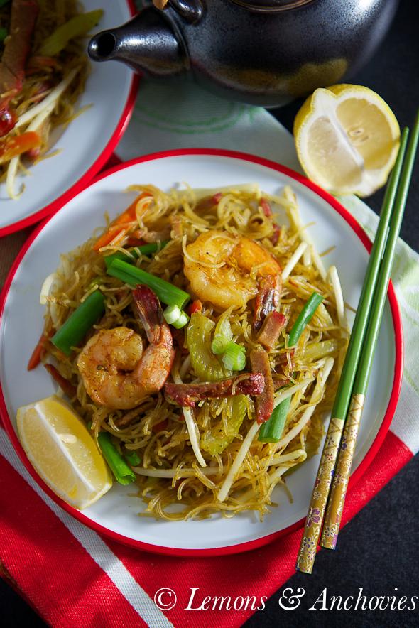 Singapore Noodles @lemonsanchovies