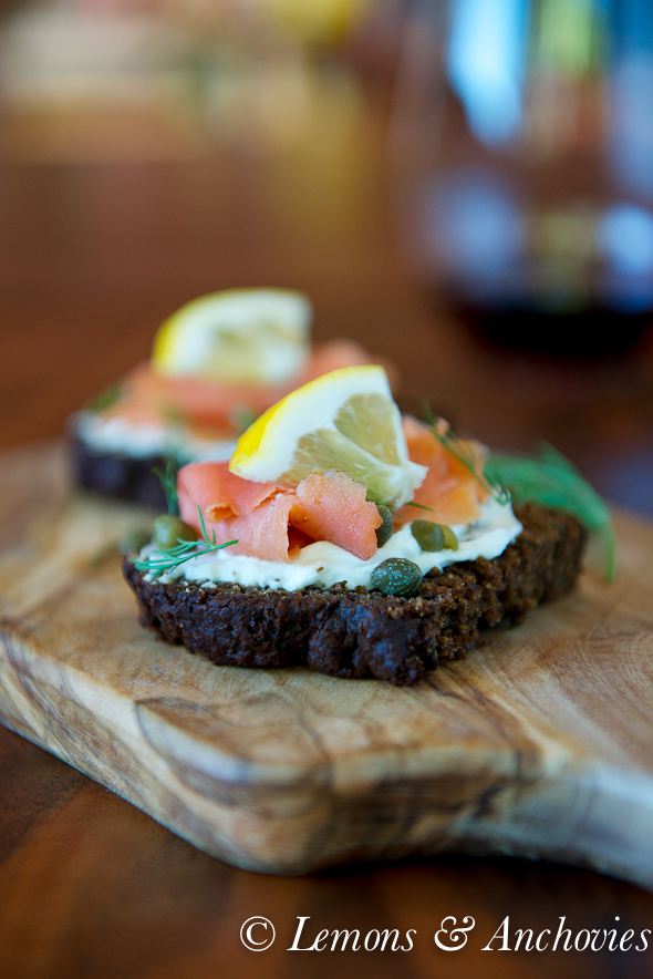 Kavring- Swedish Dark Rye Bread