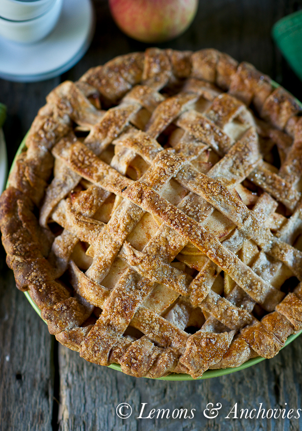 Apple Pie with Spelt Crust