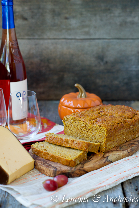 Pumpkin Cheese Bread Lemons Anchovies