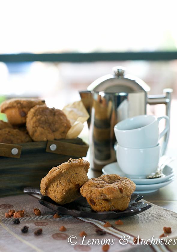 Cinnamon Raisin Muffins