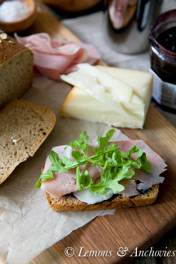 Sourdough Spelt Sandwich Bread