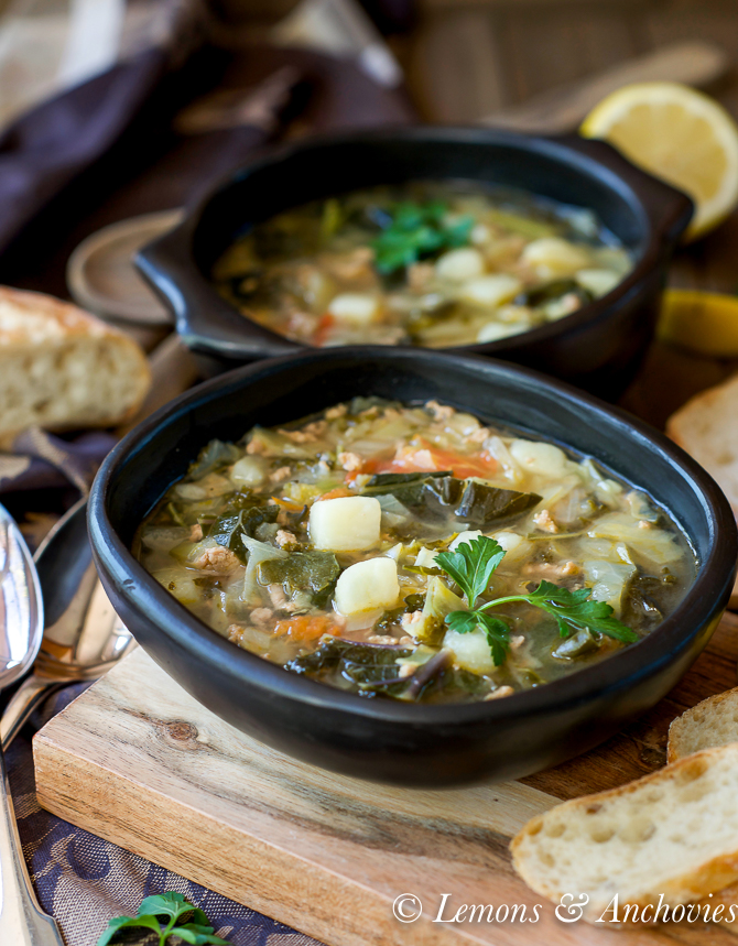 Ground Turkey and Vegetable Soup