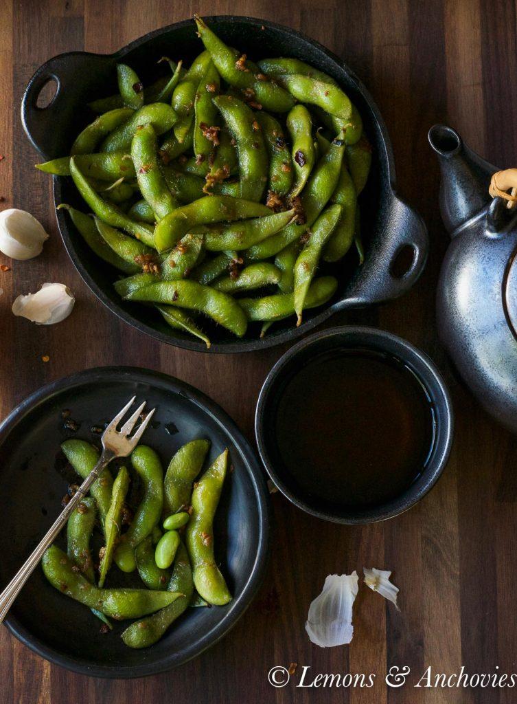 savory edamame recipe