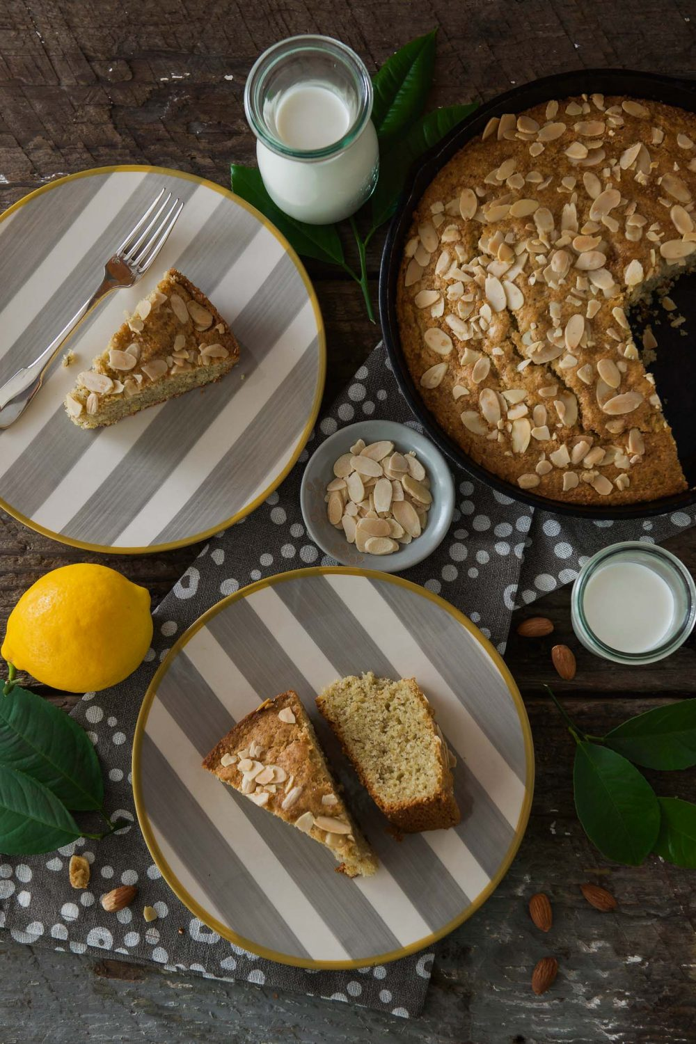 Gluten Free Lemon-Almond Olive Oil Cake